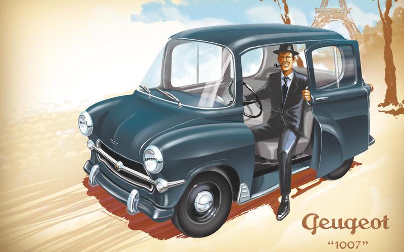 1955 Peugeot 403 – Peugeot 1007