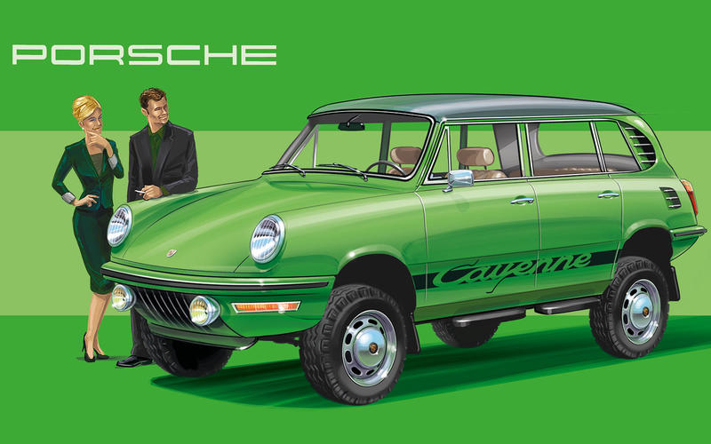 1972 Porsche 911 – Porsche Cayenne