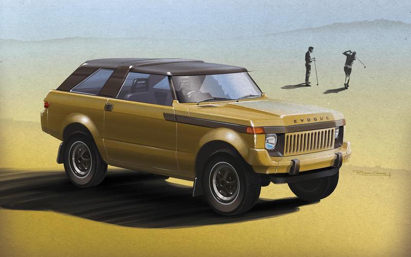 1979 Range Rover – Range Rover Evoque