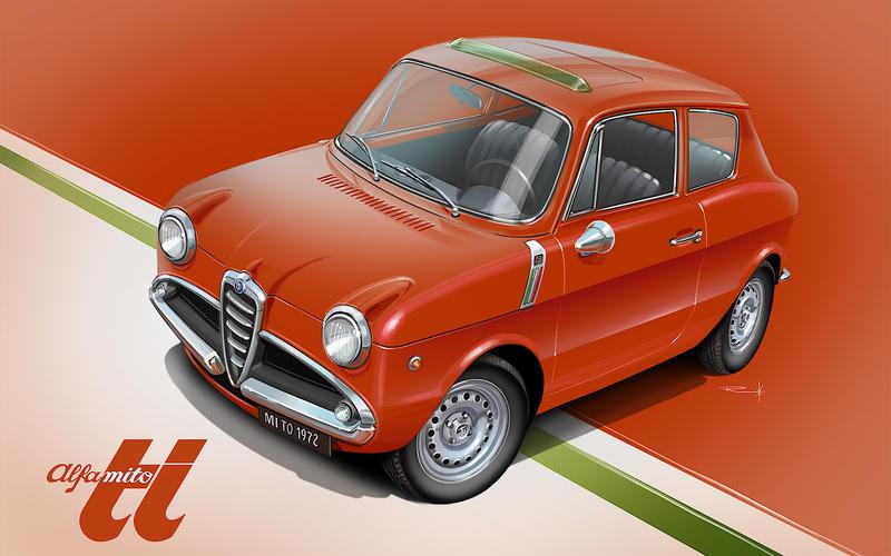 1960 Alfa Romeo Giulietta – Alfa Romeo MiTo