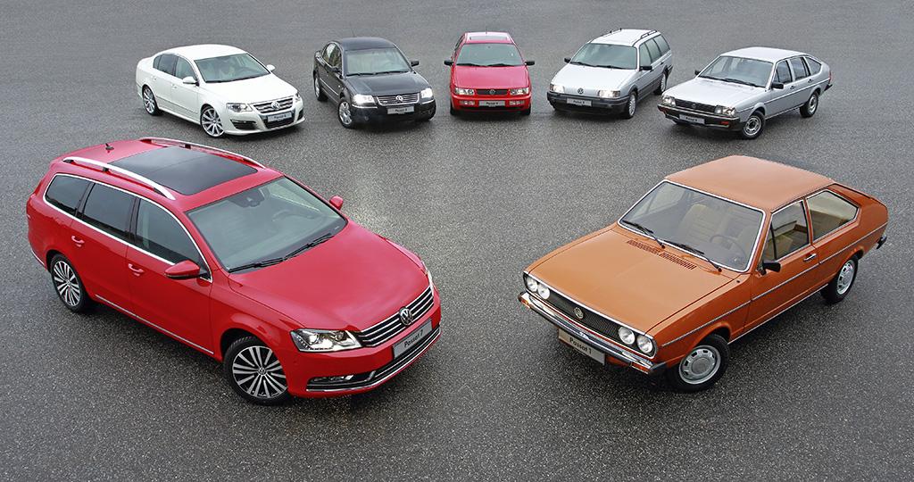 40 Jahre Volkswagen Passat