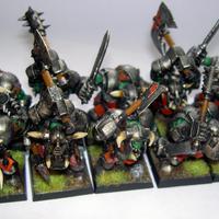 Finished Black Orks