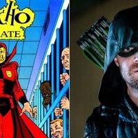A Psycho-Pirate nevű gonosztevő is feltűnik az Elseworlds crossoverben