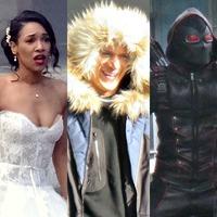 Crisis on Earth-X SPOILER: Képek a négyes crossover forgatásáról