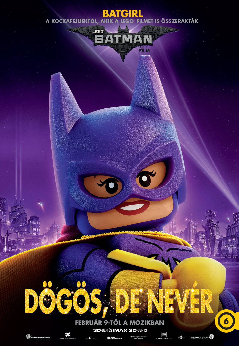 Batgirl/Barbara Gordon (Rosario Dawson, magyar hangja Kéri Kitty)