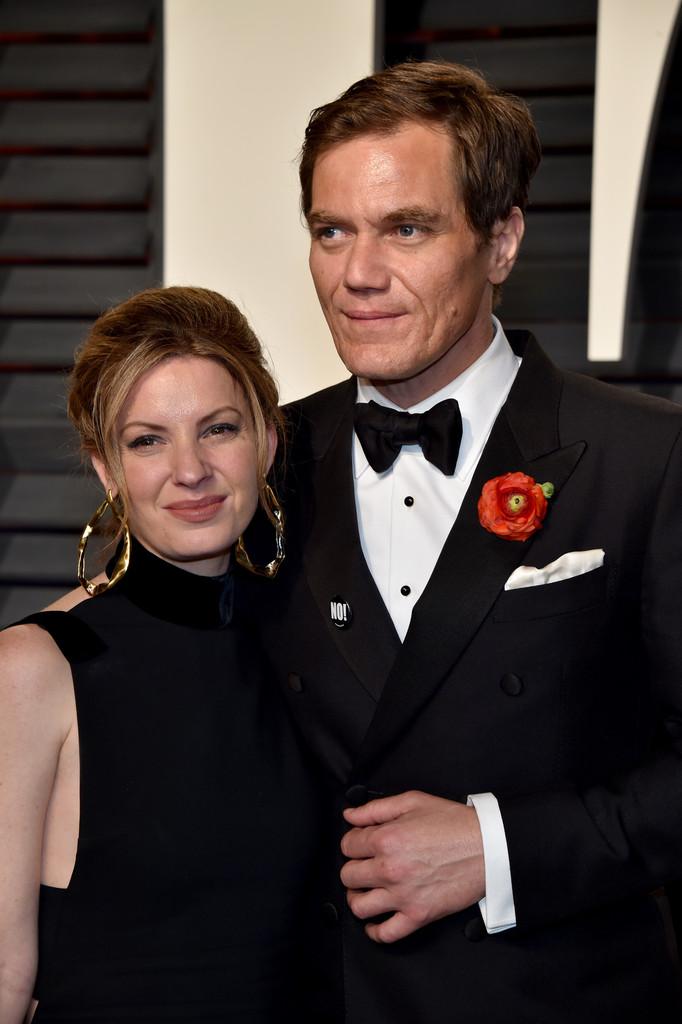 Michael Shannon és partnere, Kate Arrington