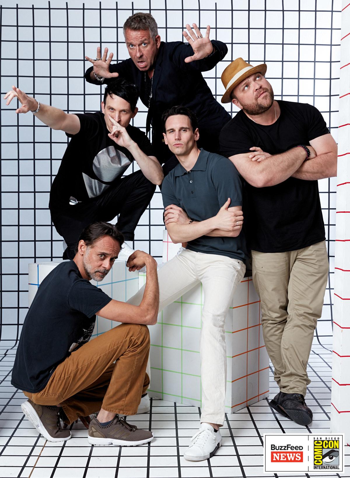 Gotham<br /><br />Alexander Siddig, Robin Lord Taylor, Sean Pertwee, Cory Michael Smith és Drew Powell.