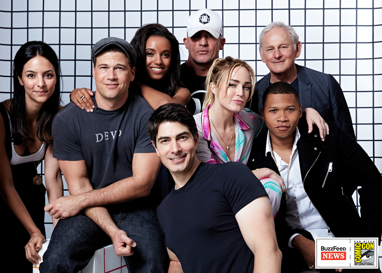 Legends of Tomorrow<br /><br />Tala Ashe, Nick Zano, Maisie Richardson-Sellers, Brandon Routh, Dominic Purcell, Caity Lotz, Victor Garber és Franz Drameh.