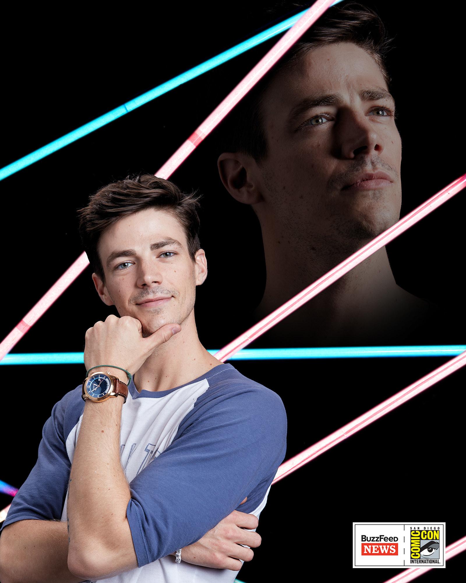 A The Flash sztárja, Grant Gustin