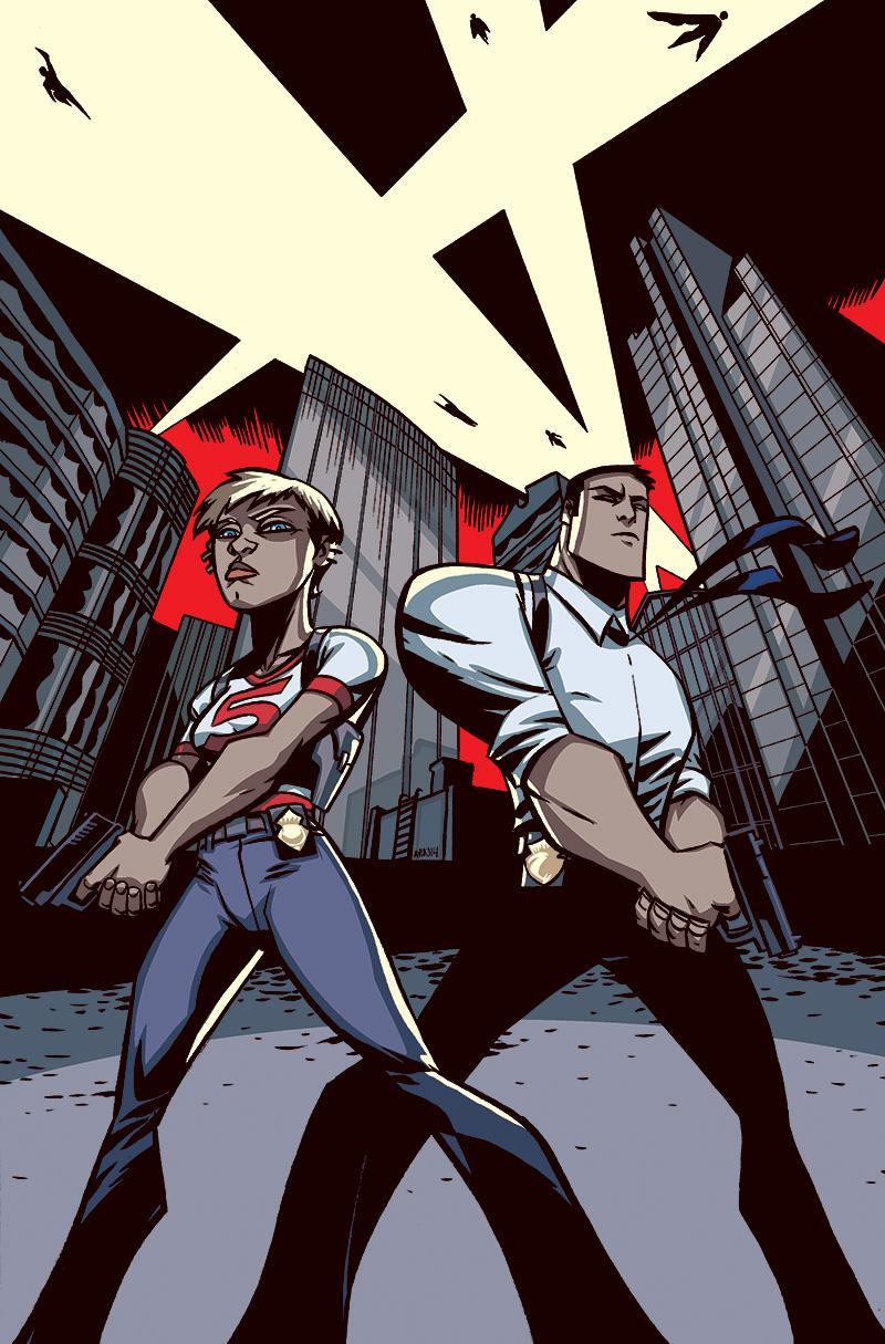 Christian Walker és Deena Pilgrim detektívek, a 'Powers' szereplői