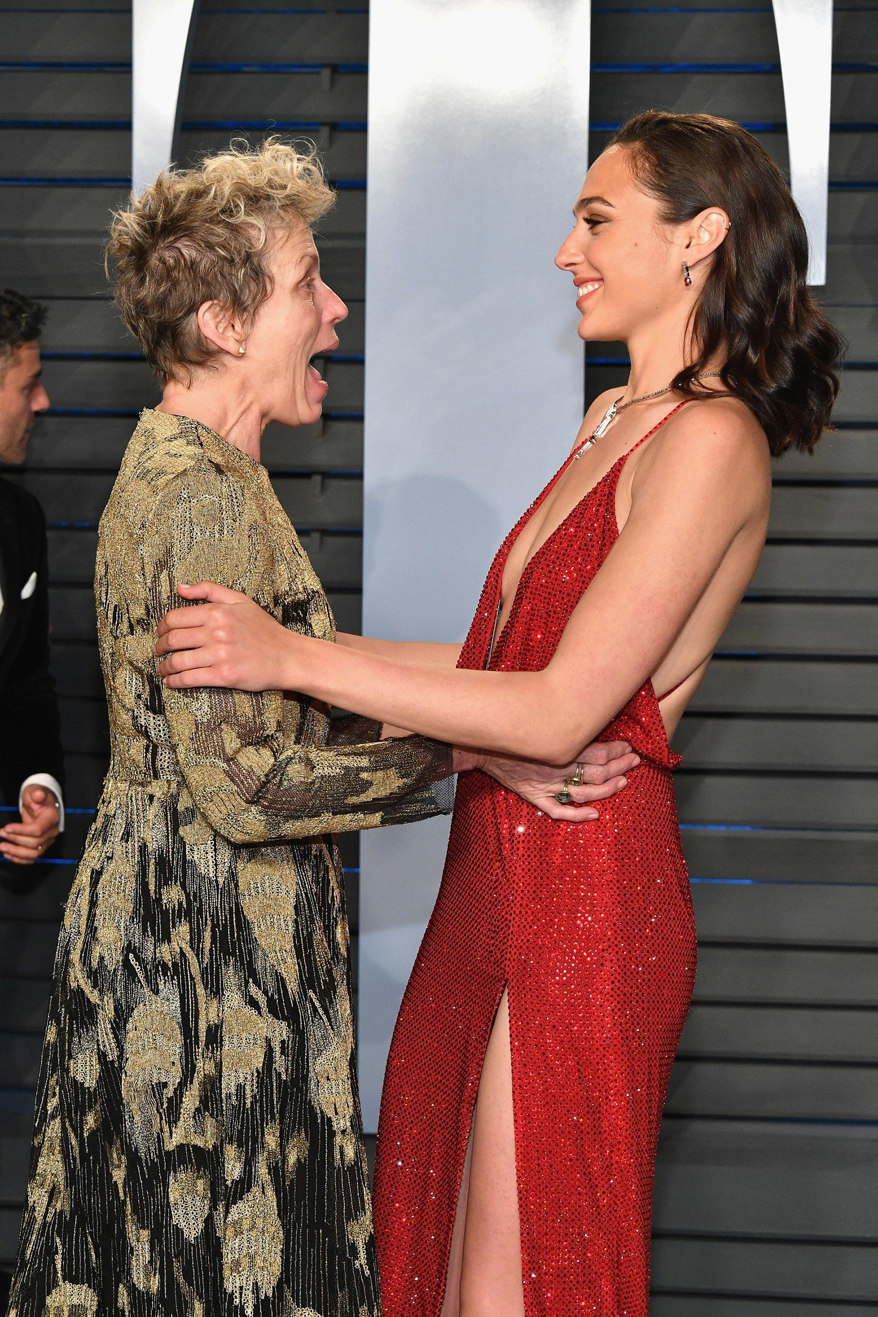 A friss kétszeres Oscar-díjas Frances McDormand és Gal Gadot