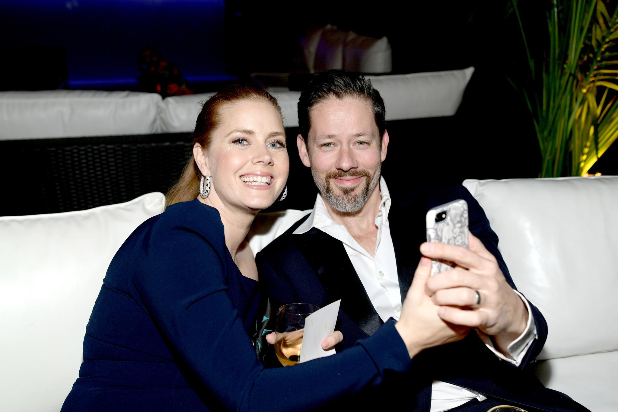 Amy Adams és férje, Darren Le Gallo