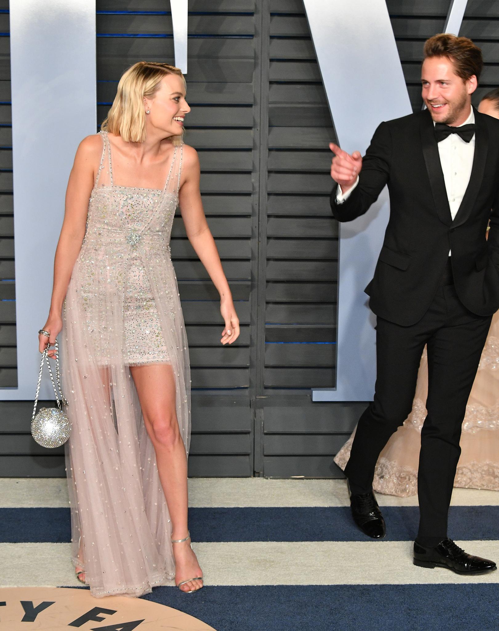 Margot Robbie és férje, Tom Ackerley