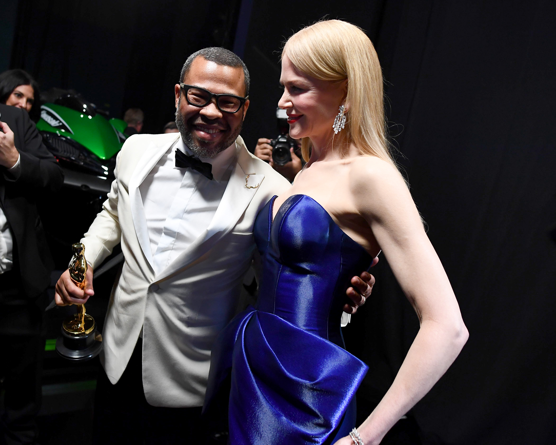 A friss Oscar-díjas forgatókönyvíró, Jordan Peele és az Oscar-díjas színésznő, Nicole Kidman