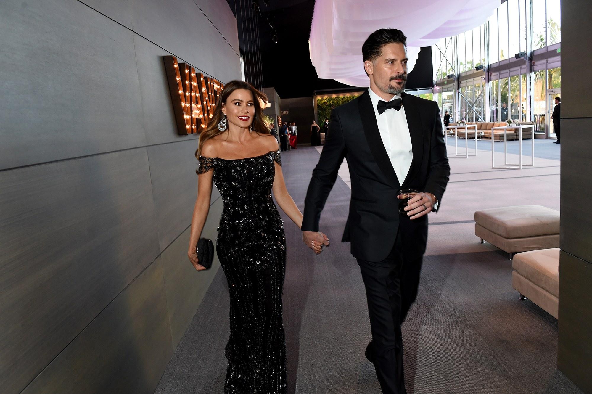 Joe Manganiello és felesége, Sofía Vergara