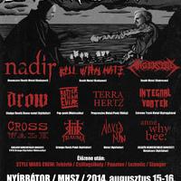 2014 - I. DeathCrew fesztivál