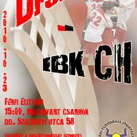 Salming Férfi OB I: DFSE - IBK CH plakát