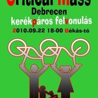 Critical Mass 2010 Ősz