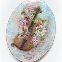 Romantikus üvegtál kézműves foglalkozás