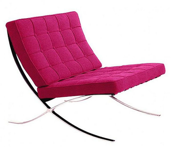 pink-accent-chairs-in-wool-fabric-barcelona-chair-replica.jpg