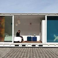 Konzerv hotel, avagy luxus konténer belga kikötőben