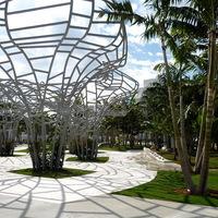 Miami Beach fémvirágai