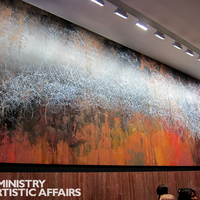 Jose Parlá hatalmas freskói Torontóban