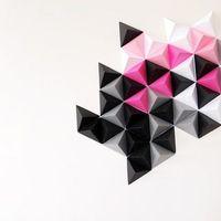 3Dimenziós faldekoráció házilag