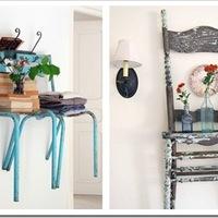 Hétköznapi dekoráció különlegesen: székekkel