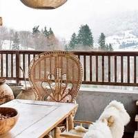 Menedékház a francia Alpokban