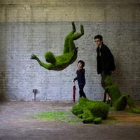 Fűtestű szobrok kiállítása