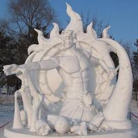 A mulandóság művészete -  gigantikus szobrok hóból