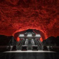 Féltékenyek lettünk ezeket a svéd metrómegállókat elnézve!