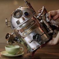 Hogyan csinálj egy ilyen Star Warsos, R2D2-es steampunk teafőzőt?