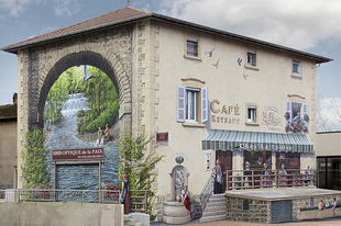 Unalmas helyek újratöltve! Amit ez a francia festő csinál az valami fantasztikus!