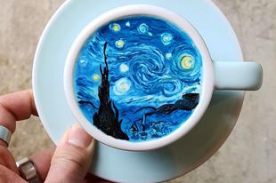Olyan szépek ezek a kávé dekorésönök, hogy bűn meginni!