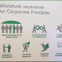 Vállalati értékeink