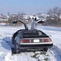 Deloreanek télen