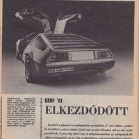 Genfi Autószalon 1981 I.