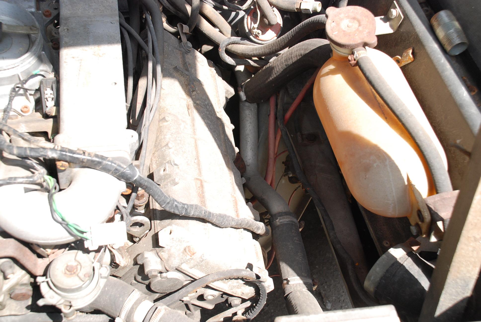 Motor ... már ami maradt belőle.