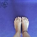 k i k a p c s o l ó d á s_b e k a p c s o l ó d á s_néhány hét saját, rendszertelen matracon való jóga gyakorlás után ma reggel egészen felüdítő volt koncentráltan visszatérni a szőnyegemre_ॐ #yoga #asana #pranayama #connection #balance #focus #vedic #daily #practice #onthemat #september #autumn