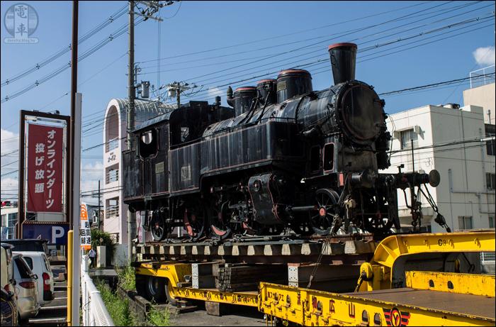 A MÁV 375,1026-os számú mozdonya az Osaka prefektúrában található Kawachinagano városában. (A képre kattintva az nagyobb méretben is megtekinthető!)