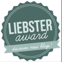 Liebster Award kitüntetés blogunknak