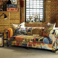 Olimpiai vintage kanapé