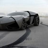 Lamborghini Ankonian - Vázlat