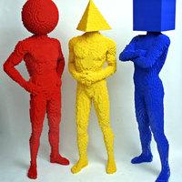 Hihetetlen LEGO szobrok Nathan Sawayatól
