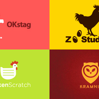 Néhány állati témájú logo design