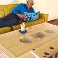 Magnókazetta dohányzóasztal by Jeff Skierka Designs