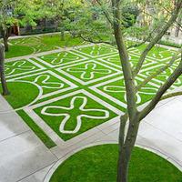 GH3 - Zöld szőnyeg betonból, fűből
