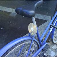 DIY  - Láthatósági CD bringára, házilag